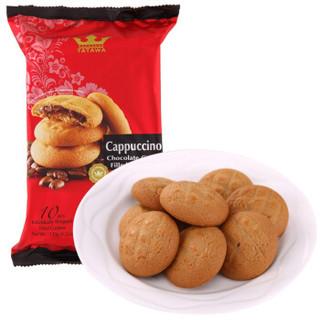 TATAWA 夹心曲奇饼干 卡布奇诺味 120g