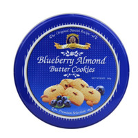 K.ANDERSON 凯得轩 曲奇饼干 蓝莓味 160g