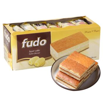 fudo 福多 奶油味蛋糕 432g