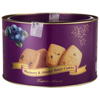 FONDEE 枫缇 曲奇饼干 蓝莓巴旦木黄油味 454g