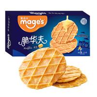 mage's 麦吉士 原味脆华夫饼干105g
