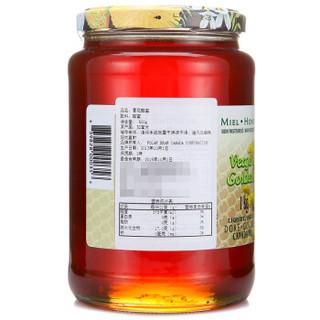 POLAR BEAR 极地熊牌 黄花蜂蜜 1000g