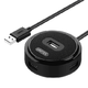 UNITEK 优越者 USB2.0集线器 USB-HUB 1转4 0.3米