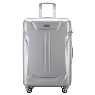 新秀丽拉杆箱万向轮行李箱男女旅行箱密码箱Samsonite可托运箱61Q银色29英寸
