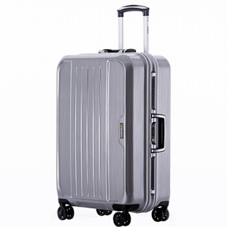 GNZA 银座 A-303k 商务铝框拉杆箱 银色 24寸
