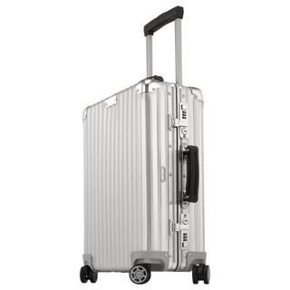 RIMOWA CLASSIC FLIGHT系列 拉杆箱 银色 21寸