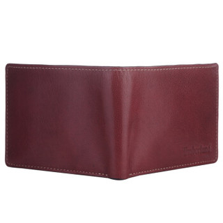 Timberland 添柏岚 D67446/01 男士短款两折真皮钱包 礼盒装