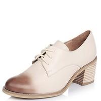 Teenmix 天美意 6U220AM7 女士复古粗跟单鞋
