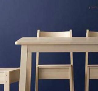实木家具也便宜  宜家价美实木餐桌推荐