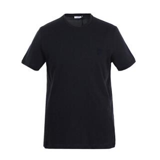 VERSACE 范思哲 男士T恤 深蓝色 L码