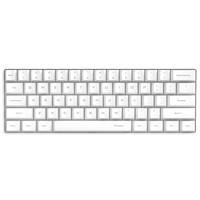 ikbc poker 有线游戏机械键盘  白色 黑轴