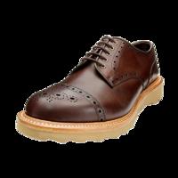 REGAL 丽格 T78B BA8 男士布洛克雕花鞋 深褐色 38