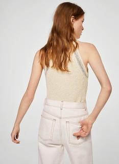 MANGO 23067622 女士棉质吊带背心