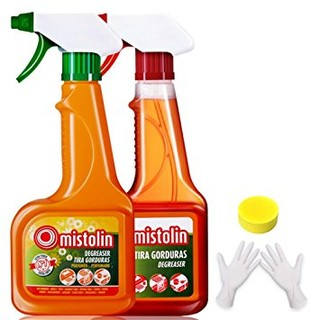 Mistolin 厨房油污清洁剂油烟机清洗剂545ml*2 优惠套装(进口)