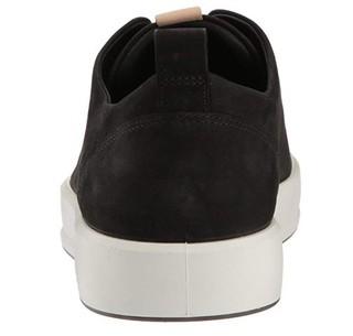 ecco 爱步 Soft 8 男士休闲运动鞋 Black/Powder US7.5
