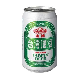 TAIWAN BEER 台湾啤酒 金牌啤酒 330ml*6听