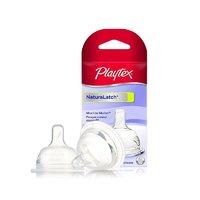 Playtex 倍儿乐 自然触感奶嘴 2只装 慢流速 0-3个月