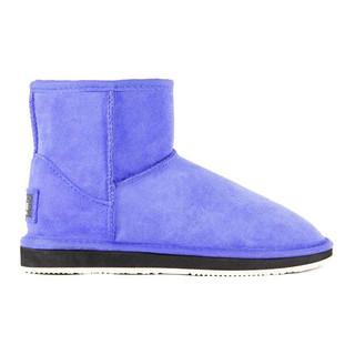 FD UGG 经典纯色羊皮毛雪地靴 鲜蓝色 5码