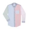 Brooks Brothers 1000045929 男士趣味条纹衬衫