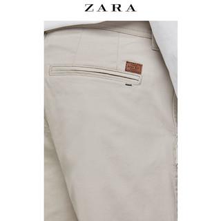 ZARA 01848460806男士棉质百慕大短裤