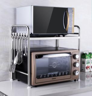 心家宜 1684042 厨房置物架 双层加长款