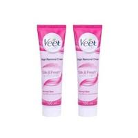 VEET 薇婷 经典粉色脱毛膏 正常肤质适用 100毫升/支 2支装 *2件
