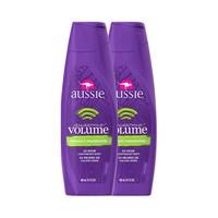 88VIP:Aussie 袋鼠 丰盈蓬松洗发水 400ml*2瓶 *2件