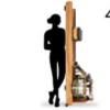 wakagym 哇咖 榉木划船机 经典款