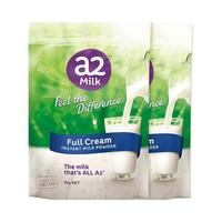 1日0点、61预告、88VIP:a2 艾尔 高钙全脂奶粉 1kg*2袋 *2件