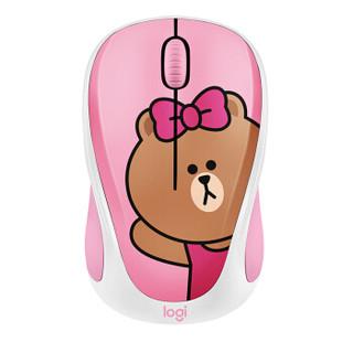 罗技(Logitech)LINE FRIENDS无线鼠标-可妮兔CONY 礼品 送女友送闺蜜 生日礼物 女生礼物可爱鼠标