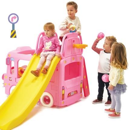 YaYa 雅雅 Hello Kitty 儿童游戏玩具车滑梯三合一
