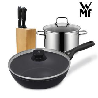WMF 1130010 福腾宝 银彩系列炒锅 +凑单品