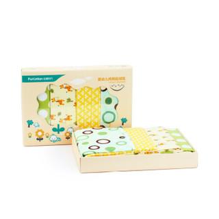 PurCotton 全棉时代 婴幼儿纯棉起绒毯76x95cm 4条装 +凑单品
