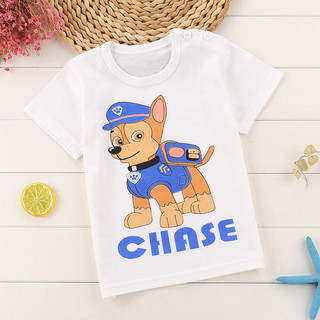 乖仔兔 儿童卡通印花短袖t恤