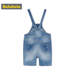 Balabala 巴拉巴拉 儿童牛仔裤背带裤