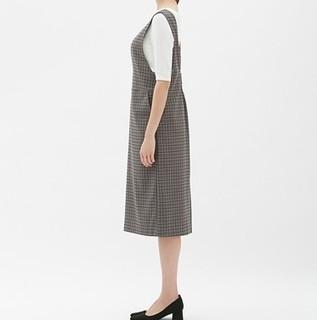 25日0点 : GU 极优 310657 女士格子连衣裙