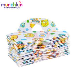 munchkin 满趣健 宝宝一次性口水巾
