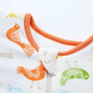 misslele 米乐鱼 婴儿夹棉三段分腿可拆卸睡袋