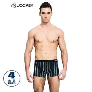 JOCKEY J1811208 男士平角内裤 4条装 2