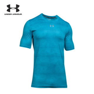 Under Armour 安德玛 UA男子CoolSwitch 运动训练短袖T恤 黑色s码