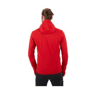 【18秋季新款】MAMMUT猛犸象男GORE运动防风连帽修身软壳夹克外套 (XL、蜥绿色)