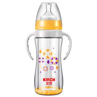 KINCH 金赞 J205 宽口玻璃奶瓶