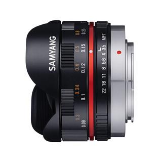 SAMYANG 森养光学 7.5mm F3.5 Fish-eye Lens 鱼眼镜头 黑色