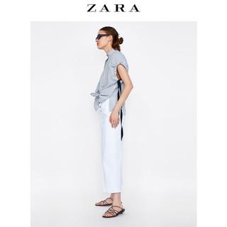 ZARA 01971064071 女士皱痕效果衬衫 M