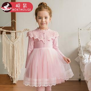 BOATMOUSE 船鼠 女童公主连衣裙