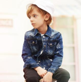 爱法贝 男童牛仔外套