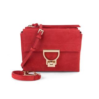 COCCINELLE E1 BD6 55 B7 01 女士斜挎包 红色
