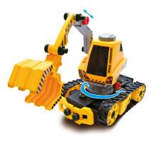 京东PLUS会员 : SIMBA 仙霸 电钻拼装玩具5合1工程车