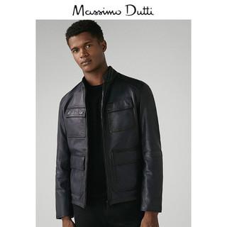 Massimo Dutti 03302102400-23 男士双面穿羊皮革夹克 M