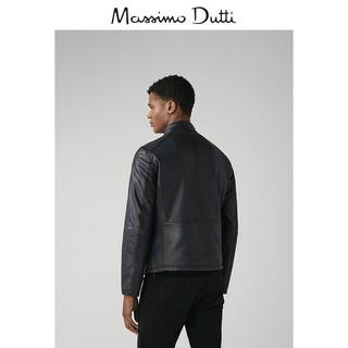 Massimo Dutti 03302102400-23 男士双面穿羊皮革夹克 XL